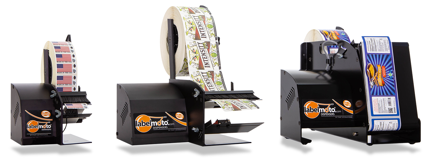 Labelmoto electric label dispensers